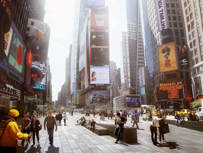 <p><strong>Times Square Redesign</strong><br /> <em><a href=&quot;http://www.snohetta.com/&quot; target=&quot;_blank&quot;>Snøhetta</a> for the City of New York </em></p>