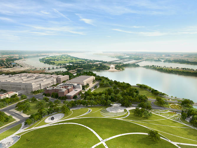 <p>Michael Maltzan Architecture and Tom Leader Studio for the Sylvan Theater and Washington Monument grounds.</p>