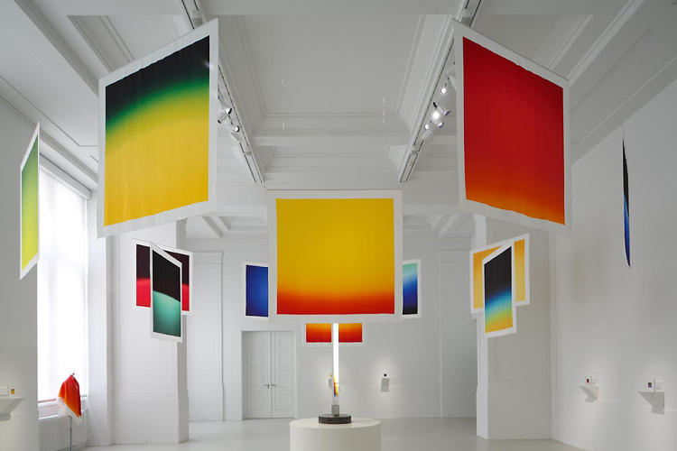 <p>Hiroshi Sugimoto transfers his prismatic Polaroids onto Hermès's classic Carré silk scarves as part of the luxury retailer's third artist collaboration.</p>