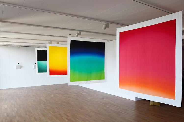 <p>Sugimoto says that <em>Polarized Color </em>came about after he began questioning Newton's observation that our cortexes can only differentiate seven colors.</p>
