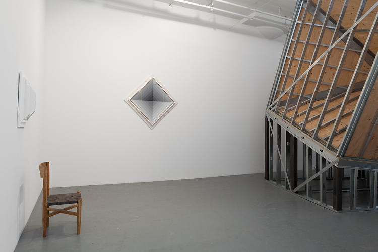<p>The installation forms the backbone of a larger show of his paintings and sculpture.</p>