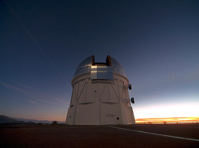 <p>Situated on an Andes hilltop, it captured first light on September 12th.</p>