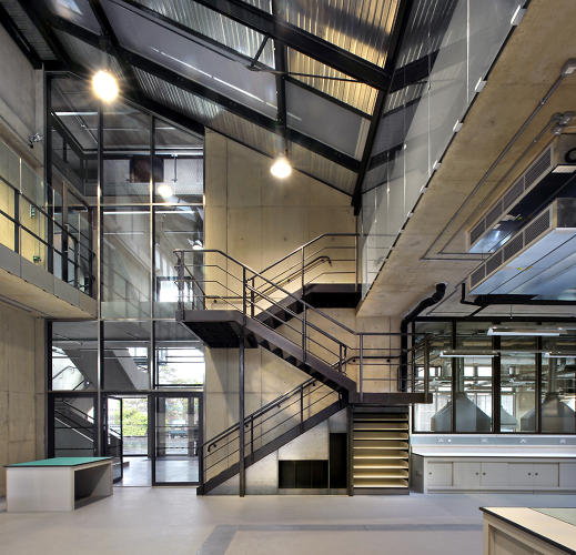 <p>The building includes space for up to 40 student-led startups.</p>