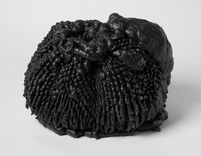<p>Chen and Williams share an insatiable curiosity about the ways different materials interact--how polyurethane foam oozing through netting creates visible tension, or how animal bones, when broken, reconfigured, and coated in resin, transform into mysterious organic shapes. In making their products, the designers typically use simple processes that achieve unpredictable results.</p>