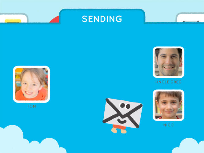<p>One of the cool aspects of the app is the parent dashboard, which lets adults oversee their children's communications.</p>