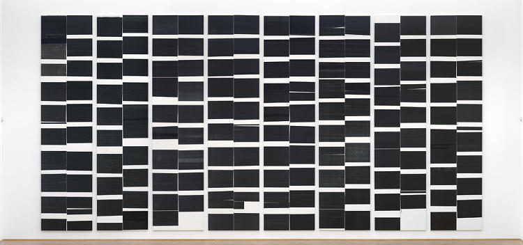 <p><em>Untitled</em> (2010). Wade Guyton's first major museum survey, <em>Wade Guyton OS</em>, opened at the Whitney Museum last week.</p>