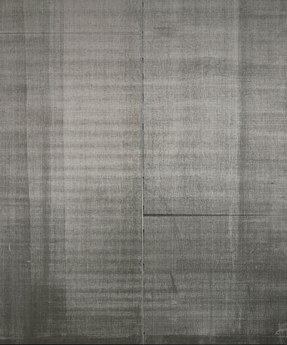 <p><em>Untitled</em> (2011). Guyton's paintings sometimes bring to mind the minimal abstractions that made Agnes Martin famous in the 1960s--but the rigorous minimalism here is partly an illusion.</p>