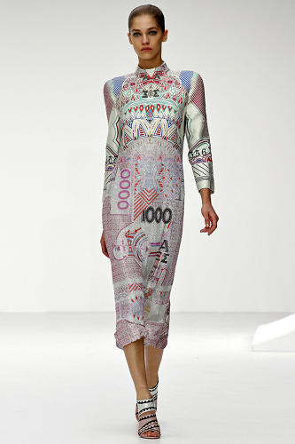 <p>The 28-year-old Greek designer, who graduated from school only four years ago, had single-handedly inspired a renaissance for prints in the fashion world.</p>