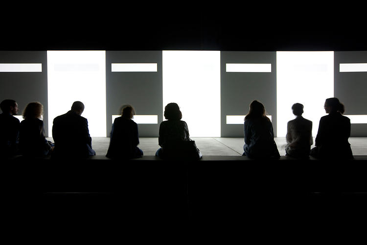 <p>Some art is small. Carsten Nicolai's Unidisplay is big--over 40 meters big.</p>