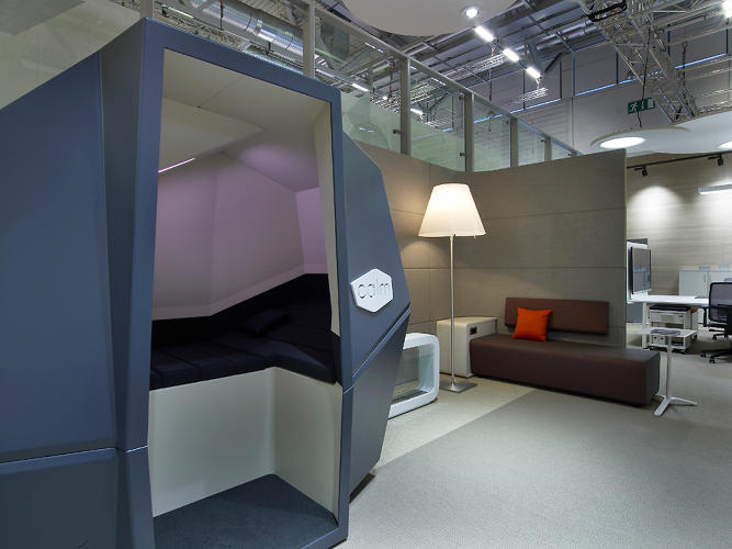 <p>Look for CalmSpace in January 2013 for 15,000 Euros.</p>