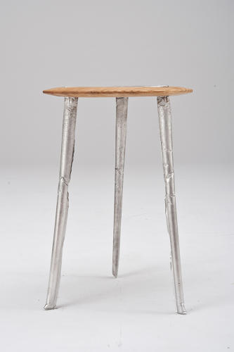 <p>The resulting stool is then sold by the antique dealer.</p>