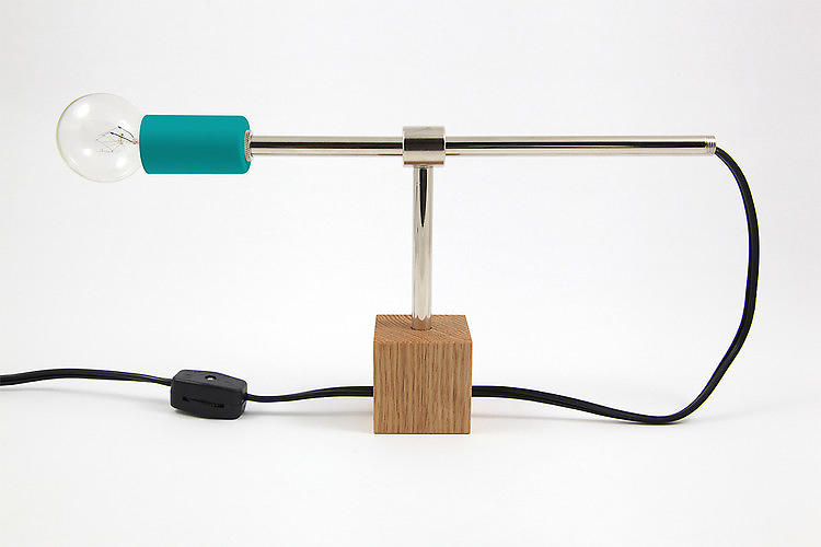 <p>The New York–based designer Dino Sanchez offers a <a href=&quot;http://www.fastcodesign.com/1670439/a-chic-75-lamp-that-you-put-together-yourself#1&quot; target=&quot;_self&quot;>DIY lamp kit</a> that even those without handyman skills can assemble with a screwdriver in 10 minutes. Users not only experience the thrill of putting something together oneself but end up with a light that far outshines its modest price tag. Buy it <a href=&quot;http://www.dinosanchez.com/product/dskit01-01&quot; target=&quot;_blank&quot;>here</a> in your choice of three colors for only $75.</p>