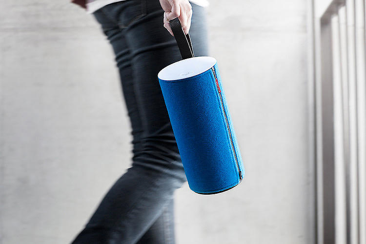 <p>You've got a nice winter coat, so why shouldn't your wireless speaker have one too? The <a href=&quot;http://www.fastcodesign.com/1671216/portable-wireless-speakers-covered-in-chic-wool-wraps#1&quot; target=&quot;_self&quot;>Zipp</a>, $400, Airplay-ready tube o' sound can be outfitted with an array of colorful wool coverings to match your decor (or your own outfit, if you're crazy like that). Plus, Libratone's got ties to the high-end Danish audio outfit Steinway Lyngdorf, so the Zipp's guaranteed to sound as good as it looks. You can pick one up at your local Apple Store or <a href=&quot;http://usstore.libratone.com/&quot; target=&quot;_blank&quot;>on the Libratone site.</a></p>