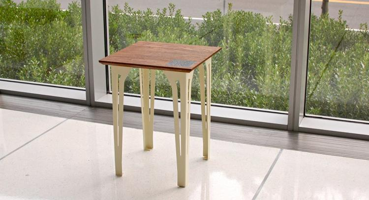 <p>Another project: The Rev--&gt;Table. It's more or less a simple side table.</p>