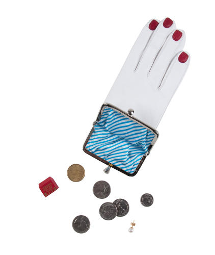 <p>A kid glove coin-purse, complete with &quot;painted&quot; nails.</p>