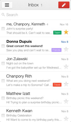<p>The new Gmail for iOS has removed the curtains and opened the windows.</p>