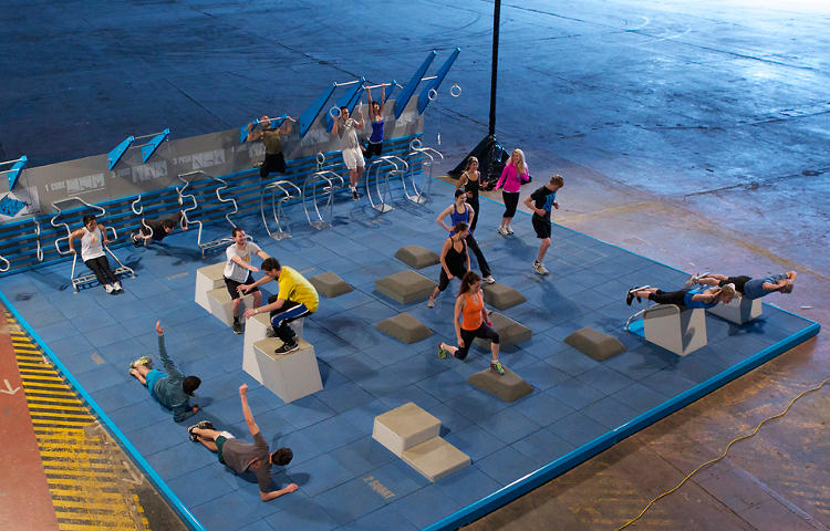<p>And to go through your workout? A podcast, developed by personal trainers, will take you through the whole circuit.</p>