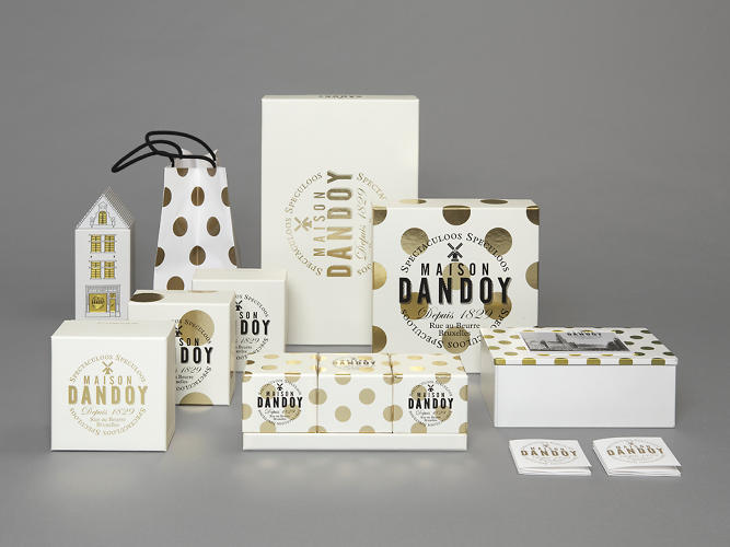 <p>The packaging and stationery feature upbeat copywriting that offsets the serious graphics.</p>