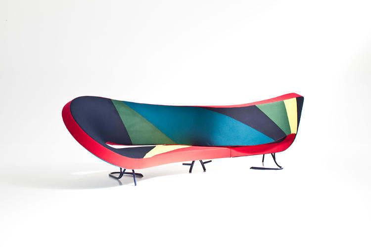 <p>Here, a Victoria and Albert Couch by Ron Arad, reimagined.</p>
