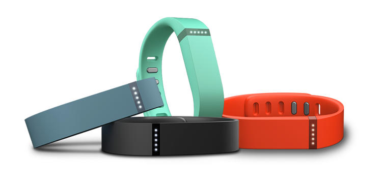 <p>The FitBit Flex is the FitBit's answer to the Fuelband.</p>
