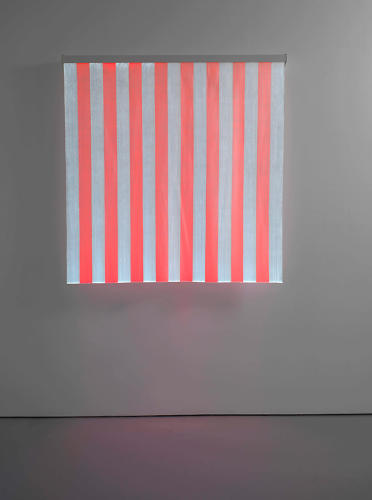<p>Much has changed since Buren wallpapered 11 cities with his stripes in the '60s, but with exhibitions like Bortolami's and London' Lisson Gallery (seen here), he's been able to maintain a strong continuity of work.</p>