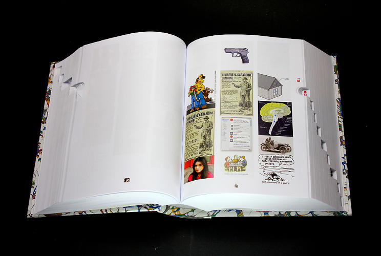 <p>To account for whatever new images have cropped up since his first printing, he's planning on making it a revised, 2013 edition.</p>
