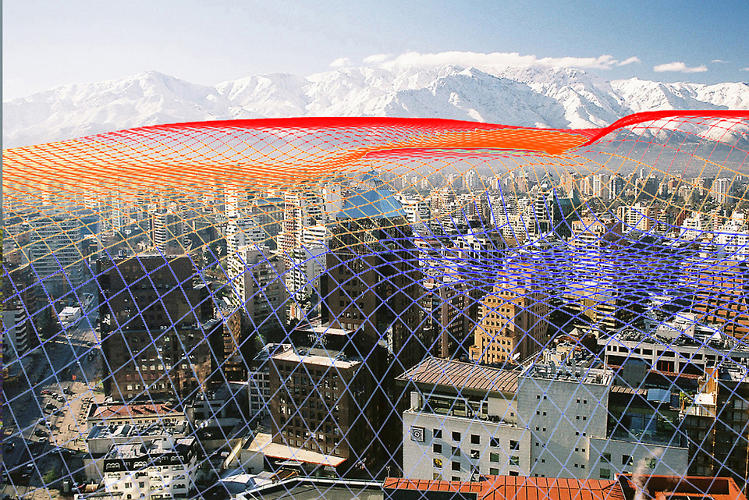 <p>Some of the works on view are encouraging, like <em>In the Air</em>, a &quot;toxic topography&quot; of Santiago, Chile, mapping airborne toxins by Nerea Cavillo (in collaboration with C+ arquitectos).</p>