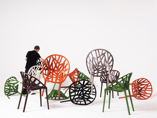 <p>Vegetal chair (2008) for Vitra</p>