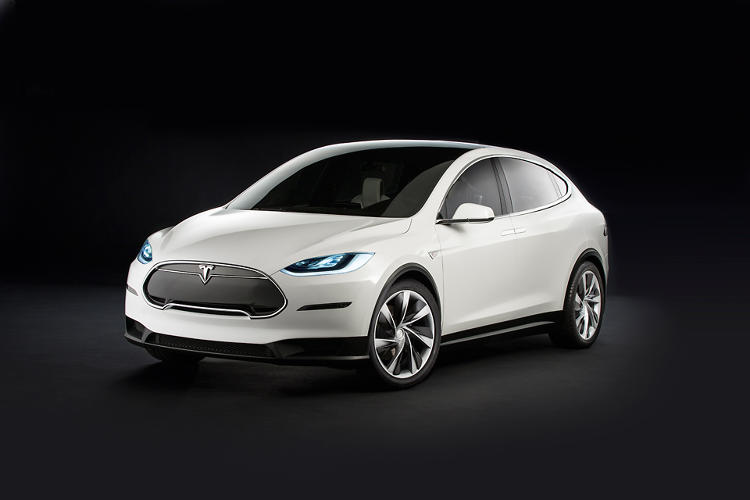 <p>The Tesla Model X is the company's first crossover.</p>