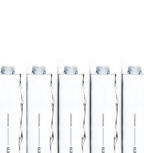 <p>Water Block, the Grand Prize Winner at the Jeju Premium Water Bottle Design Competition last year.</p>