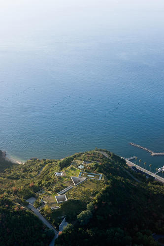 <p>The Benesse Art Site, a multi-architect project that rehabilitated an industrial island in Naoshima, Japan. Here, the Chichu Art Museum by Tadao Ando on the island.</p>