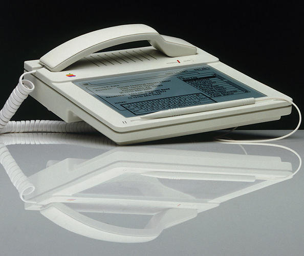 <p>Apple Snow White 3, &quot;Macphone,&quot; 1984</p>