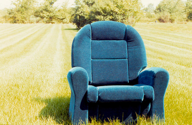 <p>Stumpf was obsessed with making furniture that would cater to an aging population who were confined all day by their La-Z-Boys. So he designed the Sarah chair, which featured a number of high-tech ideas.</p>
