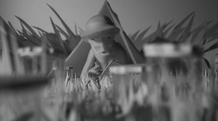 <p>What you see in the film is almost entirely foam--thousands of models across more than a hundred different scenes.</p>