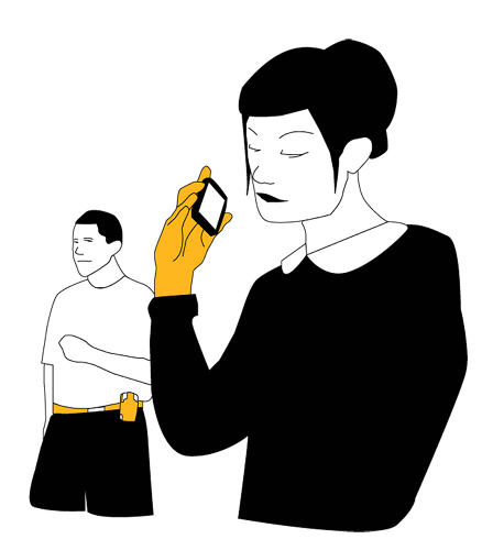 <p><strong>Low Dosage</strong><br /> &quot;I'm not putting my face against that phone!&quot; because of a) radiation b) germs c) makeup d) the carryout guy can hear me better like this e) this looks so cool.</p>