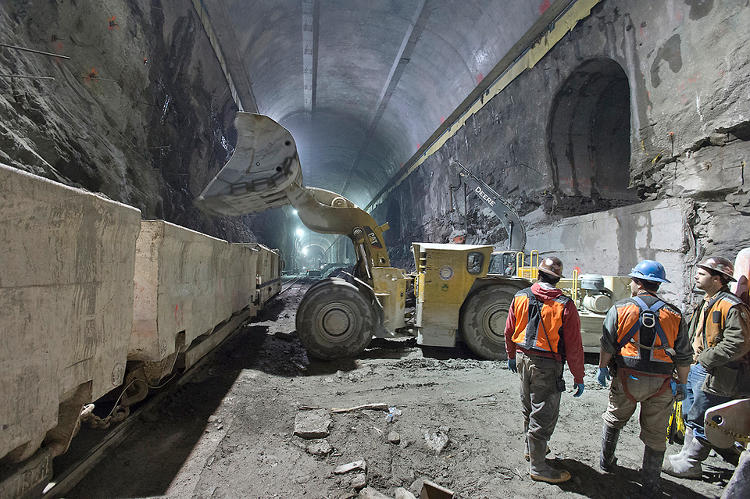 <p>The photos, posted recently by the MTA, show the progress on the East Side Access construction project.</p>