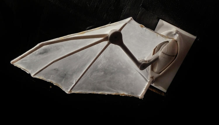 <p>Bats have over 25 joints in their wings, which make them both unique and difficult to replicate.</p>