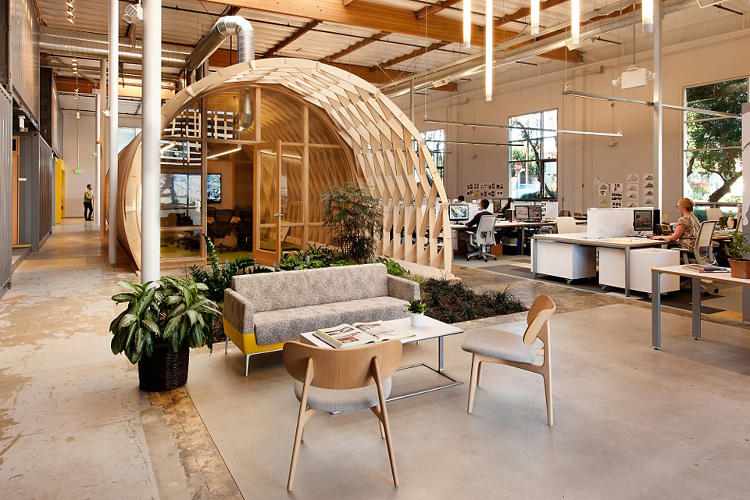 <p>But the coolest part is the small, simple indoor garden, which employees will maintain. In addition to filtering the air in the office and conveying the company's commitment to the environment, its inclusion gets at a simple truth that's occasionally overlooked when we talk about the environment and why it's worth saving.</p>