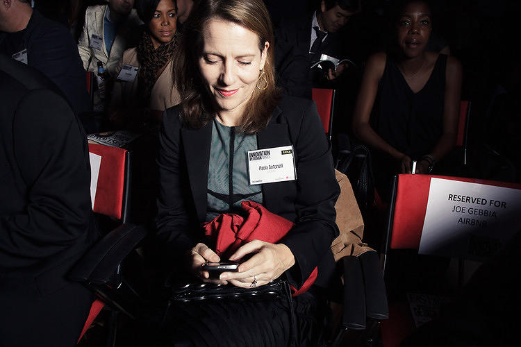 <p>Paola Antonelli, senior curator for design at MoMA and another of our judges from last year.</p>