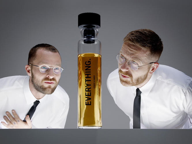 <p>Lernert Engelberts and Sander Plug combined all 1,400 perfumes introduced in 2012 together to create their signature scent, <em>Everything</em>.</p>