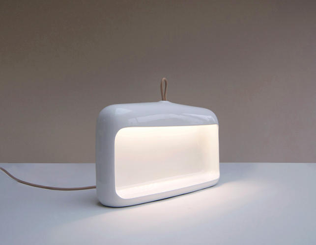 <p>Naica is an update on the traditional carbide coal miner's lantern, by designers Daniel Debiasi and Federico Sandri for Ligne Roset.</p>