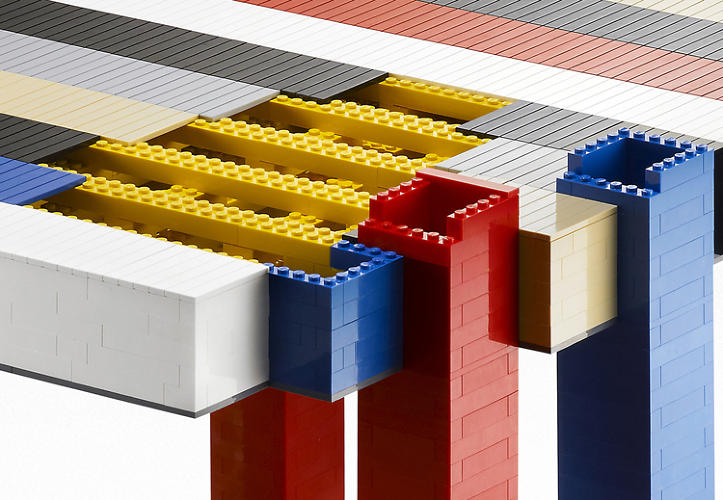 <p>The Torino-based art and design studio decided to reimagine the design out of Legos, then release the instructions to their friends and fans to celebrate 15 years of Nucleo.</p>