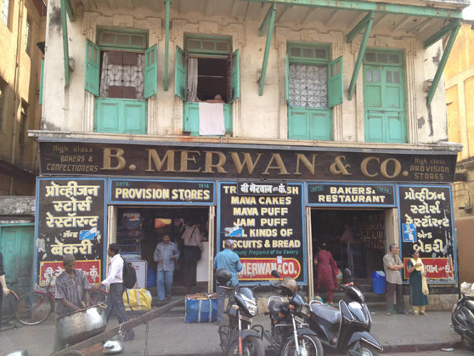 <p>These Irani cafes were hubs for time spent socializing over delicious, authentic food. Here's Cafe B. Merwan &amp; Co.</p>