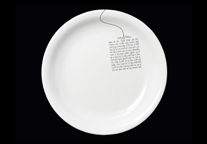 <p>Of the hundreds of online entries, 80 memories were chosen to adorn Dishoom's plain white plates in various shapes and styles--and there's still a spot on the site to <a href=&quot;http://platewallah.dishoom.com/design-your-plate.html&quot; target=&quot;_blank&quot;>design your own</a>.</p>