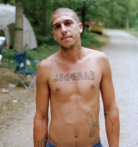 <p>Through Cronin's lens, the Juggalos look incredibly human.</p>