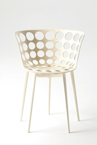 <p>The Arak chair, another new product from Starck and Knoll.</p>