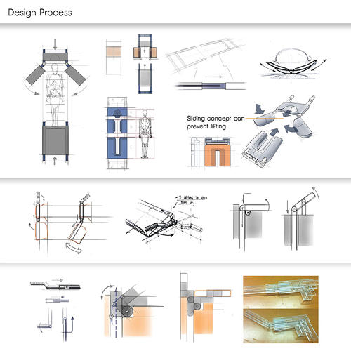 <p>Lin, a student at Art Center College of Design in California, has entered the concept in this year's James Dyson Award contest.</p>
