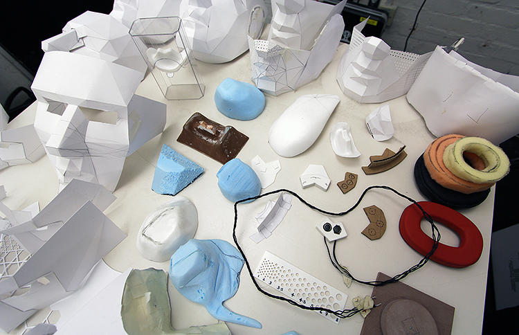 <p>… the students arrived at a final design for each of the masks.</p>