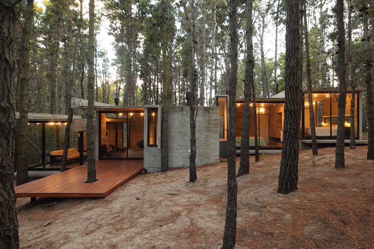 <p>The AV House significantly improves on the average summer retreat.</p>