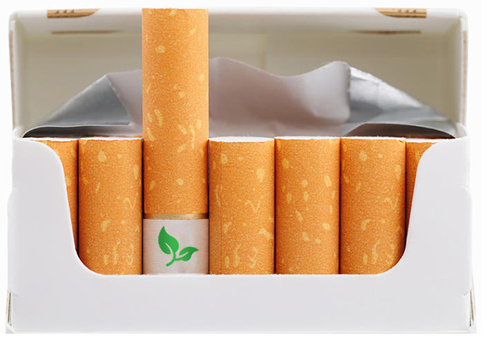 <p>This project attempts to take a &quot;nasty habit&quot; like smoking and turn it into something natural. The cigarettes are fitted with a biodegradable filter that contains wildflower seeds. &quot;Butts for blooms,&quot; declares the copy.</p>